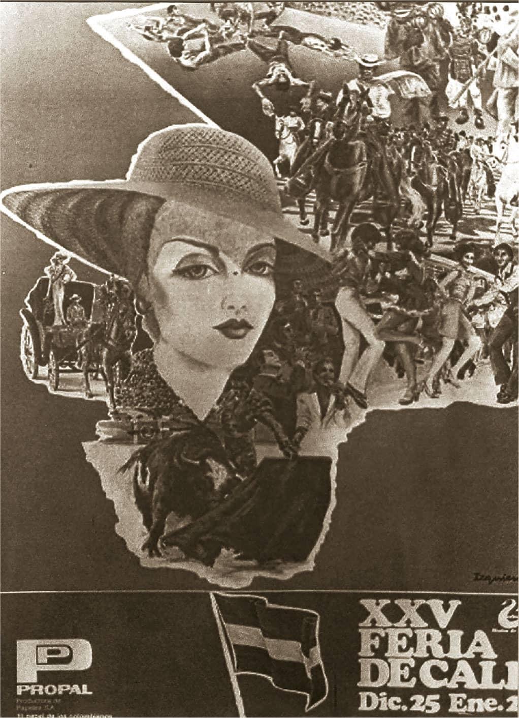 Afiche-Feria-de-Cali-25-1982