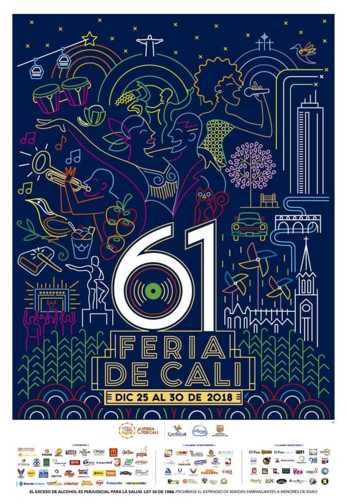 Afiche-Feria-de-cali-61-2018