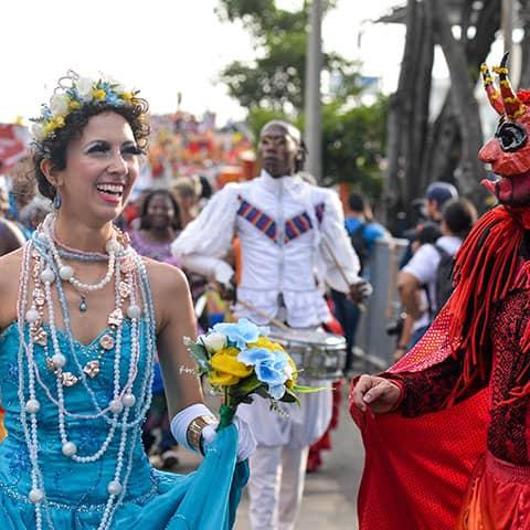 Jovita en Carnaval Cali Viejo
